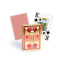 Copag - Cartes Texas Hold'em Gold rouge