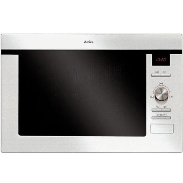 AMICA micro-ondes gril encastrable 25l 900w inox - amb8025