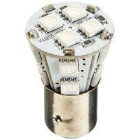 Fk automotive - Ampoule Led pour feu stop / feu de recul avec 14 Led, 1157, 12 V Bleu