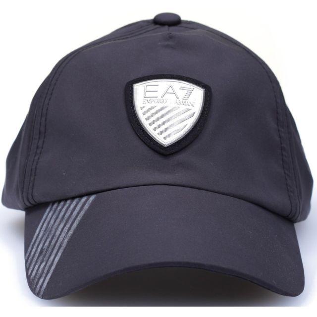 8a35764d7170 Ea7 - Casquette emporio armani noire 275365 5A697 - pas cher Achat   Vente  Casquettes, bonnets, chapeaux - RueDuCommerce