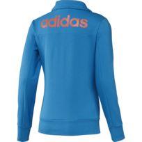 adidas Beckenbauer TT Veste S int.OrangeReal Blue: Amazon