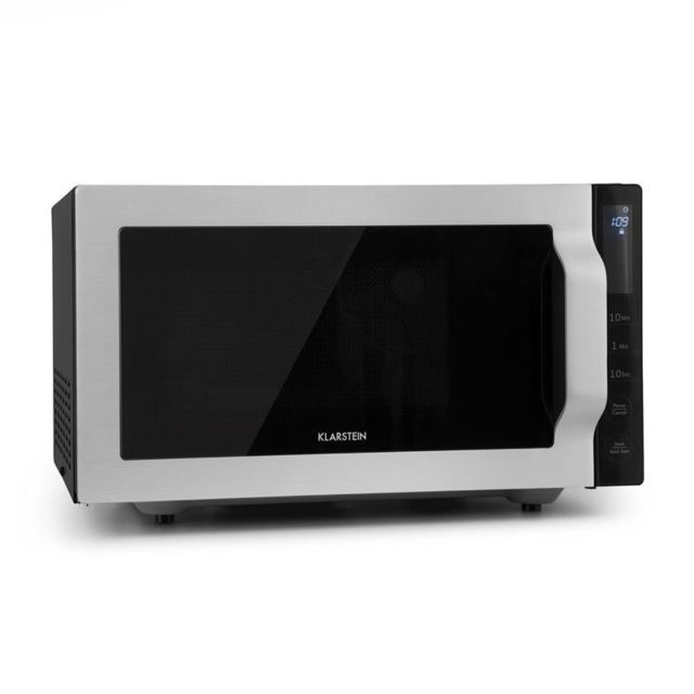 KLARSTEIN Brilliance Roomy Four micro-ondes 25L 900W/ grill 1000W - argent