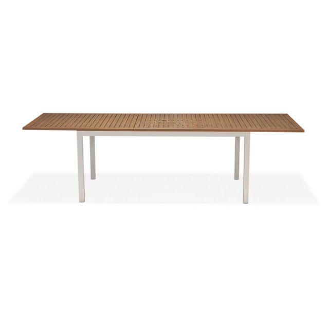 Alinéa - Quebec Table de jardin extensible en eucalyptus 8 à 14 ...