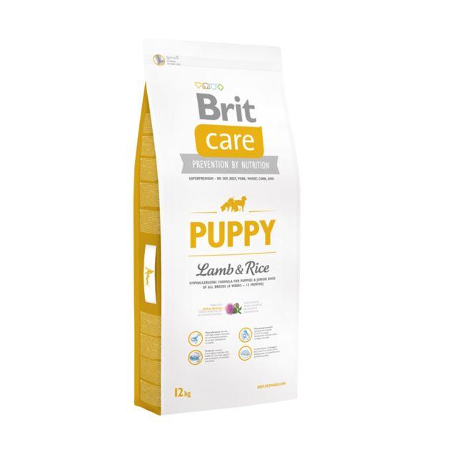 Brit Care Chien Puppy Agneau Riz