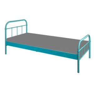 alin a sand lit 1 place bleu en m tal 90x200cm pas cher achat vente lit enfant rueducommerce. Black Bedroom Furniture Sets. Home Design Ideas