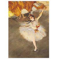 Editions Ricordi - Puzzle 1000 pièces : Danseuse sur la scène, Edgar Degas