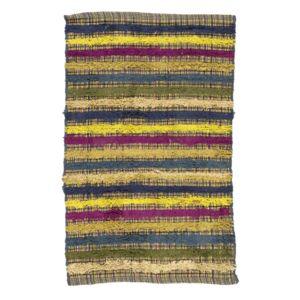 mon beau tapis tapis bounti 70x110 bleu vert multicolore pas cher achat vente tapis