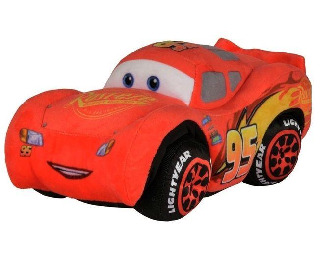 cars peluche flash mcqueen 27cm 3 voiture rouge licence disney nicotoy pas cher. Black Bedroom Furniture Sets. Home Design Ideas