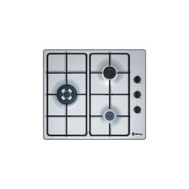 Balay Plaque au gaz 3ETX463MB 60 cm Acier inoxydable 4 cuisinière