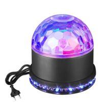 Led Commande Disco Lampe ScèneBoule 54 De Sonore6w Rgb Kl1FJc