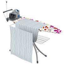 Girmi - table à repasser avec housse coton 126x45cm - advance 140