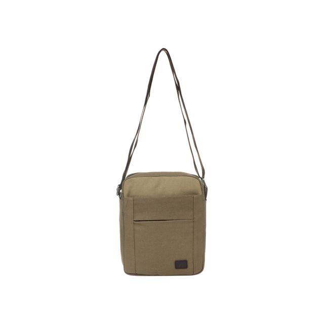 167a970c98 Ab Direct Import - Sacoche marron à quatre poches - pas cher Achat / Vente  Besaces et bandoulières - RueDuCommerce