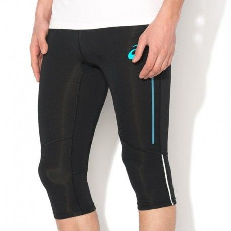 Asics Pantacourt Legging Noir Adrenaline Kneetight Running
