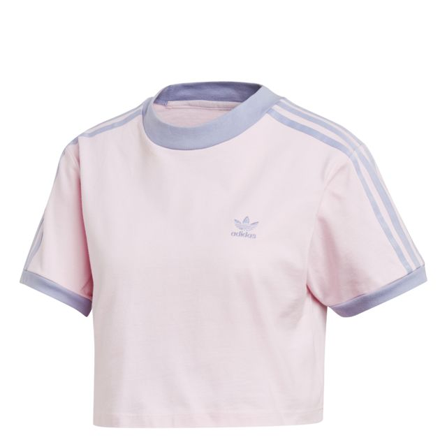 Adidas - T-shirt femme Cropped - pas cher