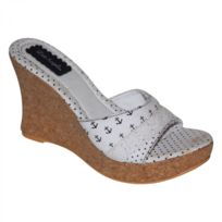Lost Angels - Samples shoes Anchor Star Wedge White Women