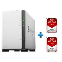 SYNOLOGY - WESTERN DIGITAL WD Red 1 To + WESTERN DIGITAL WD Red 1 To
