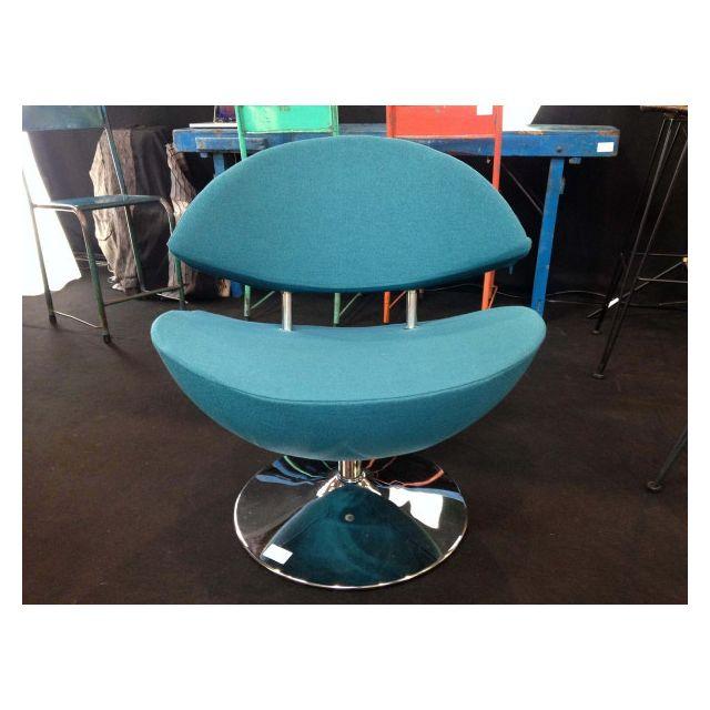 Mathi Design Smile - Fauteuil rotatif confortable en plusieurs coloris