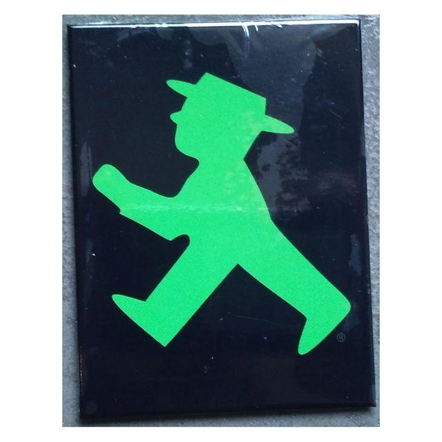 Universel Magnet 6x8cm homme vert deco cuisine frigidaire frigo