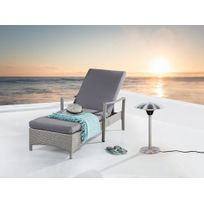 Beliani - Chauffage d'extérieur électrique - radiateur halogène sur pied - Etna court