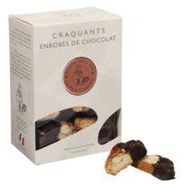 Le Pere Craquant - Craquants aux amandes enrobés de chocolat Valrhona 150g