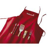BARBECOOK - Tablier + set accessoires
