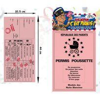 Kas Design - Permis Poussette Humoristique