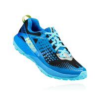 Hoka One One - Speed Instinct 2 Bleue Aster Et Noire Chaussures de trail  femme