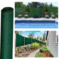 ProBache - Brise vue haute densité vert 1,8 x 10 m 300 gr/m² qualité pro