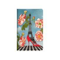 Les Cakes De Bertrand - Carnet 7,5x12 cm - 48 pages - Tour Eiffel Escarpin