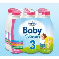 Candia - Babylait Croissance Nature 6L x1