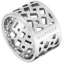 Tommy Hilfiger Bijoux - Promo Bague Tommy Hilfiger Jewelry 2700743 - Bague Argent Ajouré Femme