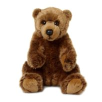 Neotilus - Peluche : Wwf Grizzly assis 23cm