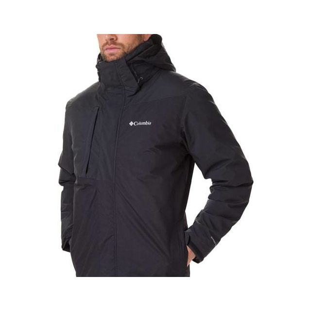 Columbia Veste imperméable Tolt Track Interchange noir