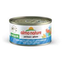 Almo Nature - Pâtée en Boîte Hfc Natural Thon de l'Atlantique pour Chat 70g