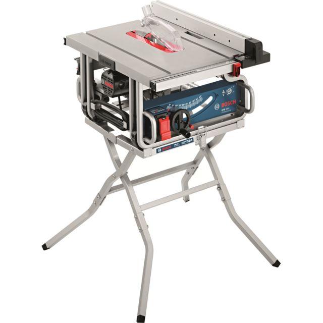 Bosch PACK Scie sur table 254mm GTS10J 1800W + Piètement GTA600 0615990DM4