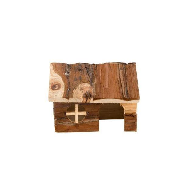 ACCESSOIRE DE CAGE - ABRI PETIT ANIMAL Maison du hamster - 14 x 12 x 10 cm - Pour petits animaux