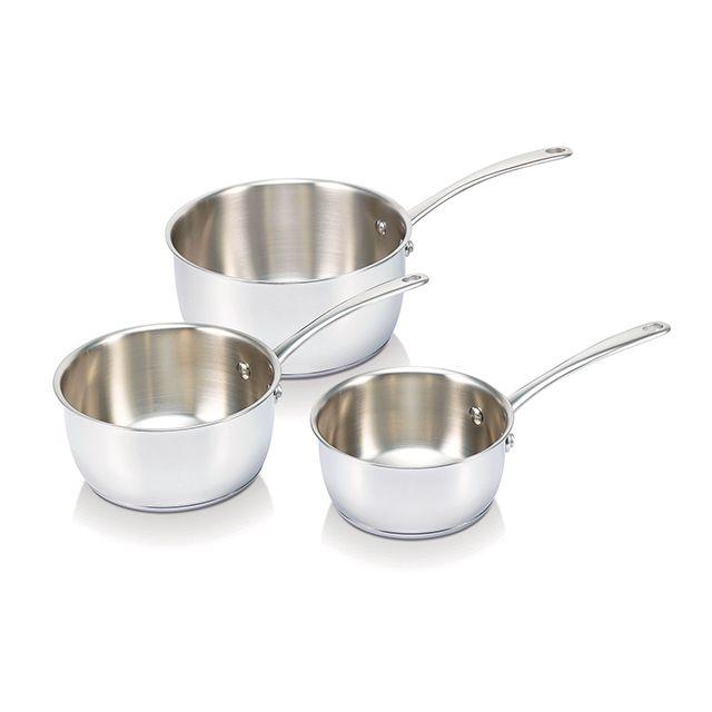 BEKA - série de 3 casseroles inox 16/18/20cm - 13516974