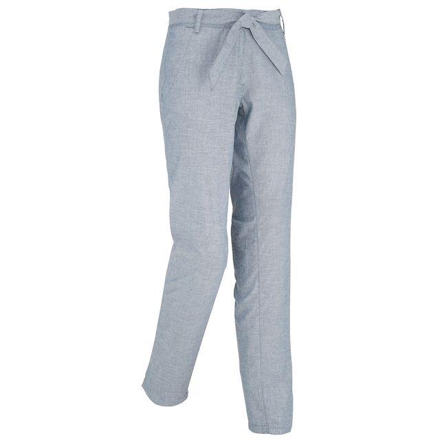 934afb7a5a6 Lafuma - Pantalon Ld Kampass Bleu Femme - pas cher Achat   Vente Pantalons