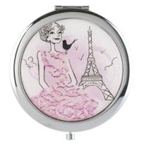 """Bio Et Glamour - Miroir de poche Romantique """"La Parisienne"""