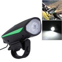 125 Eclairage 3 Vive Modes Et Rechargeable Led Vert Usb Vélo Corne Guidon 250lm Lumière Avec ym8vNwOn0