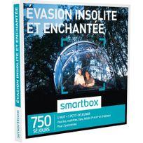 Smartbox - Évasion insolite et enchantée - 750 séjours partout en France ou en Europe : hébergements insolites ou hôtels de 3 à 5 - Coffret Cadeau