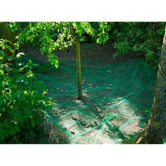 MARQUE GENERIQUE PAILLAGE - VOILE - PROTECTION CULTURE Filet de ramassage fruits et feuilles mortes