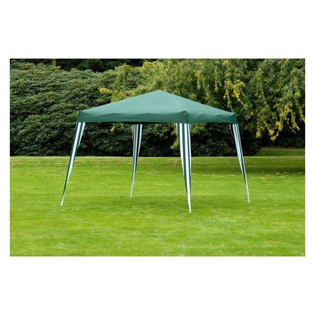 barnum tonnelle tonnelle pliante tente de jardin imperm able vert pas cher achat. Black Bedroom Furniture Sets. Home Design Ideas
