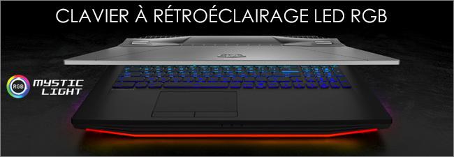 MSI - Clavier gaming rétroéclairé