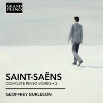 Grand Piano - Camille Saint Saëns - Intégrale des oeuvres pour piano Vol. 2 Boitier cristal
