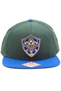 Bioworld The Legend of Zelda casquette Snap Back Metal Shield