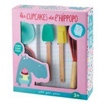 Arty Frog Paris - Coffret pâtisserie : Les cupcakes de l'Hippopo
