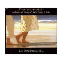 Alpha - Vivent les vacances - Mélodies de Gounod, Saint-Saëns, Lalo