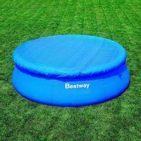 Best Way - Bâche pour piscine autoportante ronde de 244 cm de diamètre