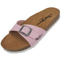 Pepe Jeans - Claquettes mules Oban rose lady Rose 42108